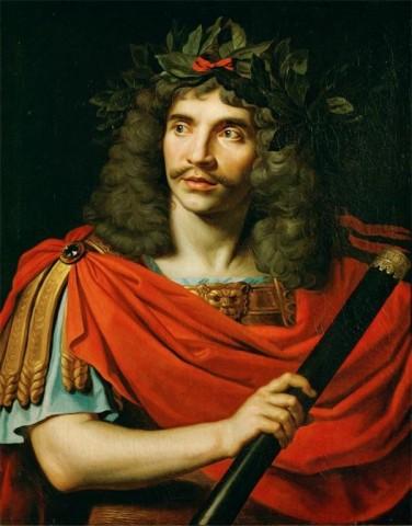 Molière ritratto da Nicolas Mignard (1658)