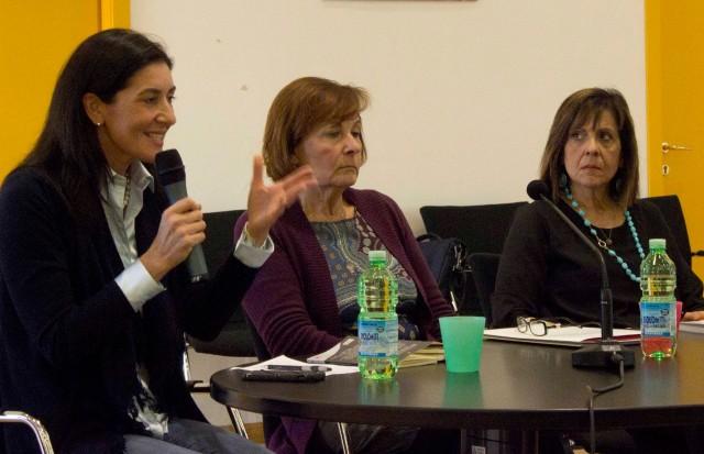 l'On. Elena Centemero, Laura Morasso e Carlotta Morgana
