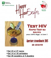 Happy Hour Safe, iniziativa di promozione del test HIV