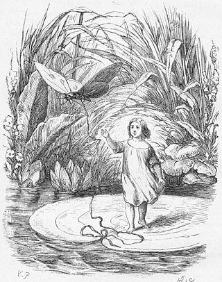 Mignolina nell'illustrazione di Vilhelm Pedersen