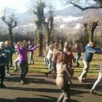 Campi estivi in Romania, volontari  insieme a BiR