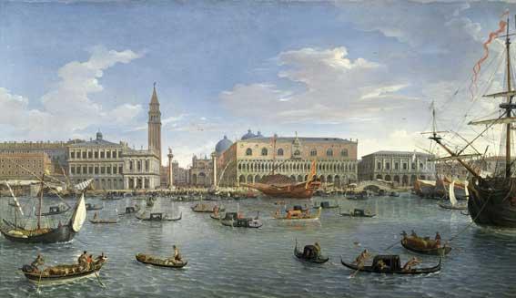 VAN WITTEL Palazzo Ducale Venezia San Giorgio