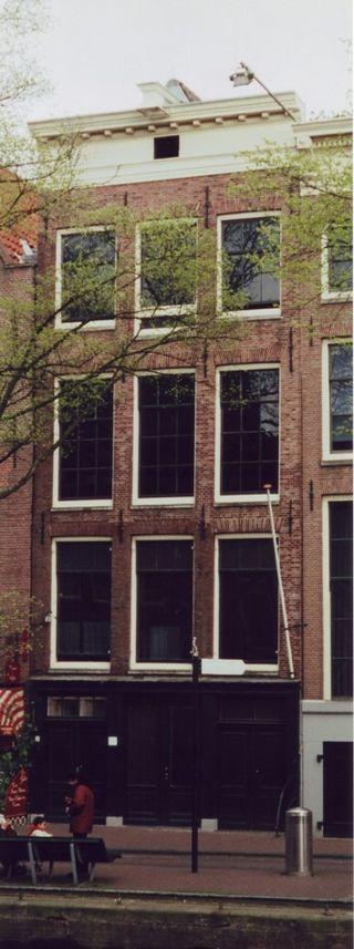 L'edificio in cui si trovava l'alloggio segreto, ad Amsterdam
