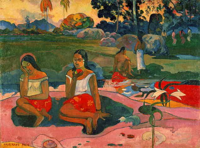 gauguin Nave, Nave Moe Fonte miracolosa 1894