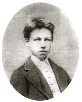 Rimbaud ritratto dal fotografo Etienne Carjat