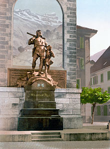 statua guglielmo tell