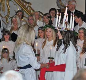 la tradizione in Svezia