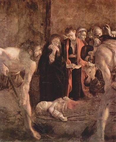Caravaggio - Seppellimento di Santa Lucia
