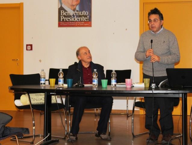 Da sinistra: Carlo Chierico e Fabrizio Annaro