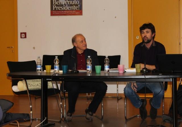 Da sinistra: Carlo Chierico e Daniele Biella