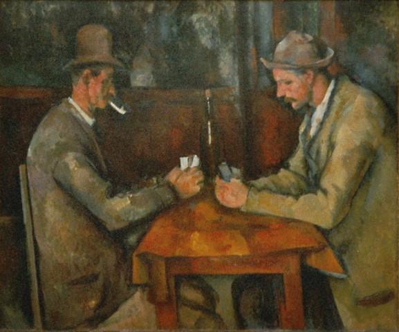 I giocatori di carte, 1894