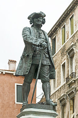 Monumento a Carlo Goldoni, a Venezia