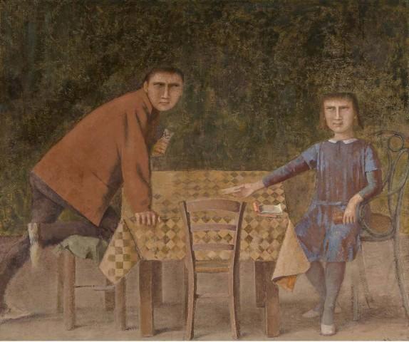 Balthus, Les Joueurs de cartes, 1966-1973