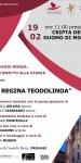 Locandina Evento Regina Teodolinda 19Feb20
